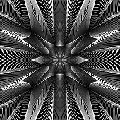 picture of distort  - Design monochrome grid background - JPG
