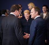 Donald Tusk At The Informal Eu Summit