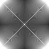 Design Monochrome Stripy Geometric Background