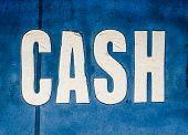 Grungy Cash Sign