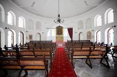 Singapore - 31 Dec 2013: From The Center Aisle Of The Armenian Church Of St. Gregory The Illuminator