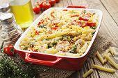Casserole Pasta With Chicken And Broccoli
