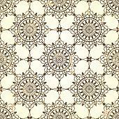 Lace seamless pattern