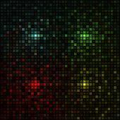 Vector - Multicolored mosaic