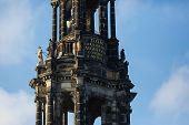 Fragment Of Tower Hofkirche