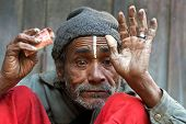 Man In Poverty, Nepal