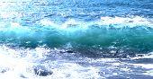 Blue Ocean Sea Wave