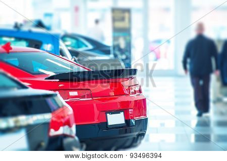 poster of Buying New Car Concept
