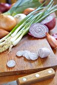 stock photo of red shallot  - Red - JPG
