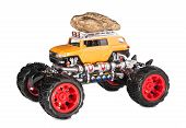 pic of truck-cabin  - Big truck toy - JPG