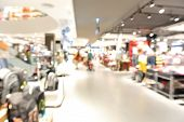 picture of department store  - Blur background with bokeh light of Department store in Shopping Mall - JPG