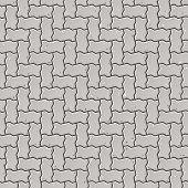 Seamless pavement pattern. Vector.