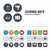 picture of barbershop  - Hotel services icons - JPG