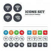picture of fi  - Wifi Wireless Network icons - JPG