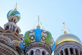 picture of sankt-peterburg  - church of savior on Spilled Blood in St - JPG