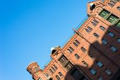stock photo of free-trade  - Hamburg famous warehouse district called Speicherstadt in the former free port - JPG