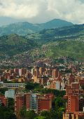 foto of medellin  - Medellin the second biggest city in Colombia which is the capital of the Department of Antioquia - JPG