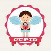 foto of cupid  - cupid cute design - JPG