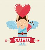 picture of cupid  - cupid cute design - JPG