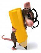 Ratón divertido