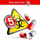 Flu Virus alert number five