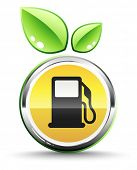 Green fuel icon