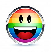 foto of smiley face  - Gay smiley - JPG