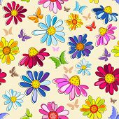 Effortless Pink Floral Pattern