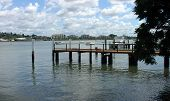 Jetty On The Brisbane River