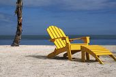 Yellow Beach Chair