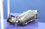 The Catalytic Converter For Automobile ; Close Up poster