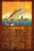 Fishing Poster Calendar 2012 Tarpon Fish