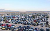 Parking Lot Full Of Cars