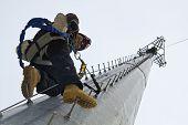 Turm Kletterer