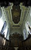 University Of Oxford, Trinity College Chapel Ceiling