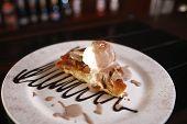 Tasty Dessert With Pie