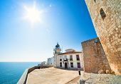 Beautiful Landscape View (peniscola Lighthouse, Spain)
