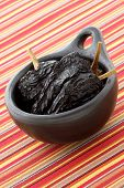 foto of chipotle chili  - delicious dried chili peppers great for mexican food and fusion cuisine - JPG