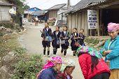 Black Hmong People Vietnam