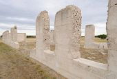 Fort Laramie National Historic Site, post hospital ruins