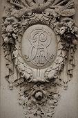 Royal Monogram Of King Edward Vii Of Great Britain Or The Royal Cypher Of King Edward Vii, An Intert poster
