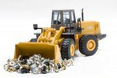 building bulldozer
