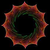 Fractal Mandala Icon