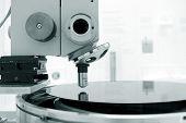 Scientific Microscope In A Laboratory