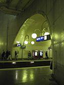 Paris Metro Cite stop