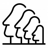 Easter Island Sculpture Icon. Outline Easter Island Sculpture Vector Icon For Web Design Isolated On poster