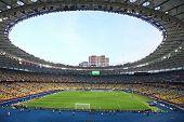 Panoramic View Of Olympic Stadium (nsc Olimpiysky) in Kyiv