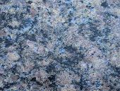 Black Granite With Brown Spots And White Veins, Beautiful Texture Of Natural Polished Stone Close-up poster