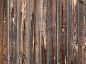 Grunge Wooden Plank Fence