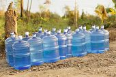 fresh water supplies in tropical dry country